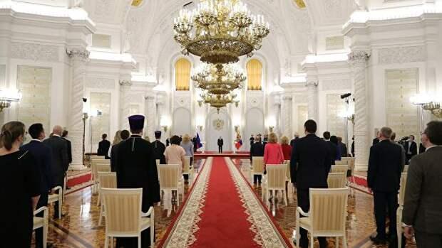 Лауреаты госпремий перед встречей с Путиным прошли карантин
