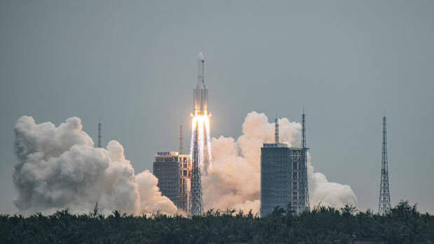 Рисков для РФ нет: «Роскосмос» следит за сходом с орбиты ступени китайской ракеты-носителя