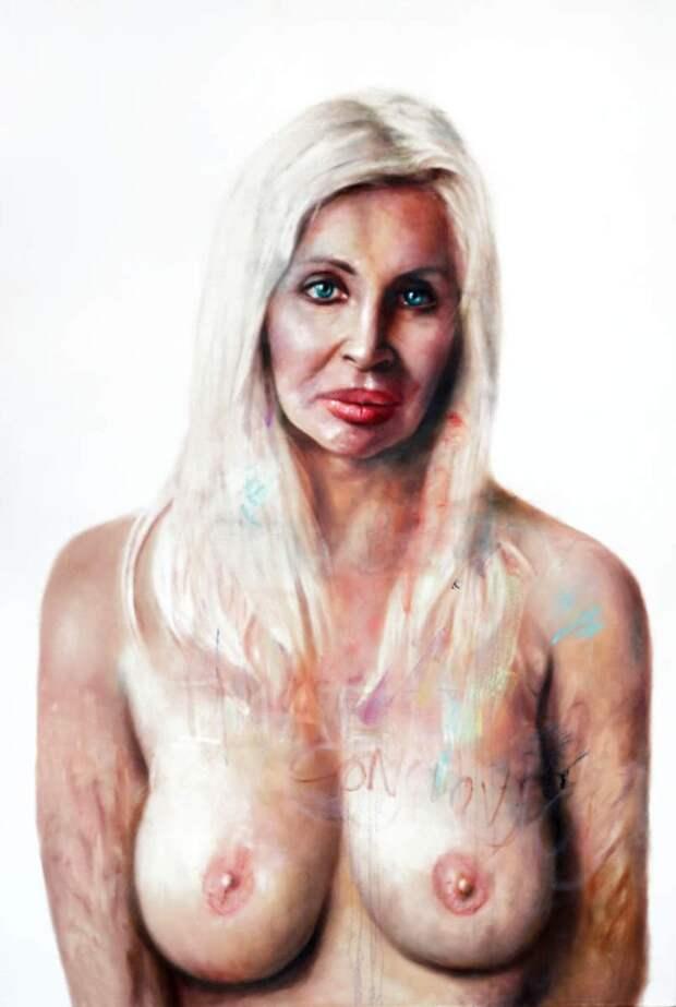 Шведский художник-портретист. Johan Andersson