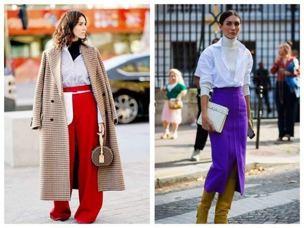 Водолазки в этом сезоне модно носить под рубашку
