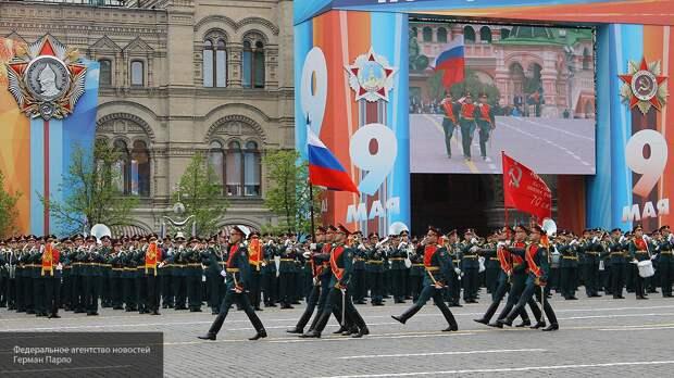 Как тренируются парадные расчеты перед Парадом Победы