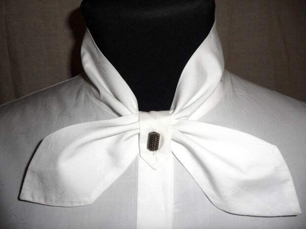 Оригинальный воротничок для стильной офисной рубашки 9