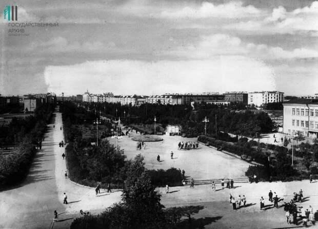Пермь, проспект им. Сталина (Комсомольский), 50-е