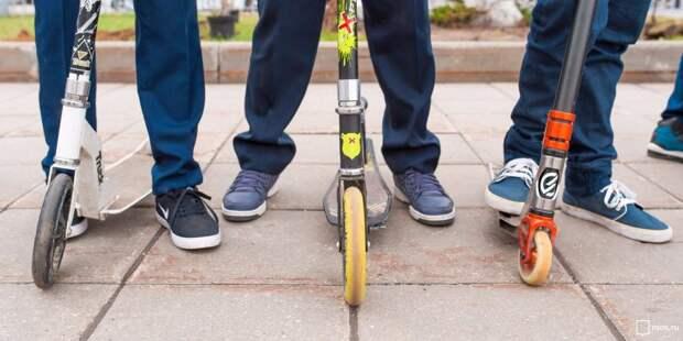 Мастер-класс по трюкам на самокате и скейтборде пройдет на Смольной