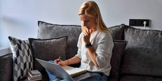 Наталья Сергунина рассказала о новом онлайн-сервисе для предпринимателей Москвы. Фото: Ю. Иванко mos.ru