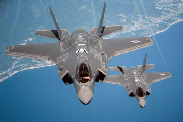 Турецкие F-35 продали ВВС США