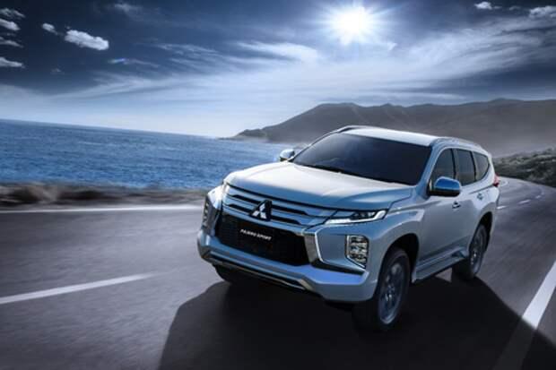 Mitsubishi оснастила Pajero Sport цифровой приборкой