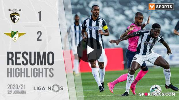 Highlights: Portimonense 1-2 Moreirense (Liga 20/21 #32)