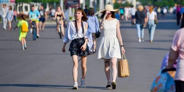 Врач: Жаркая погода провоцирует рост смертности в Москве. Фото: Ю.Иванко, mos.ru