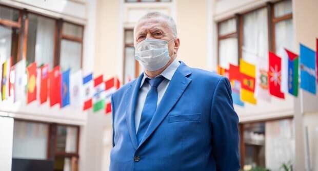 Жириновский анонсировал тюремные сроки для противников вакцинации