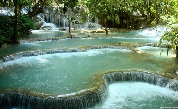 Красивейшие каскадные водопады