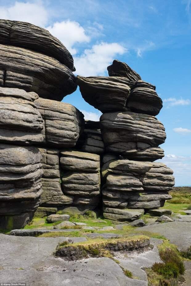 Гравелитовые скалы