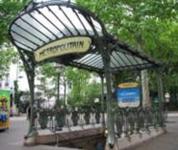 Удобства перемещения на парижском метро