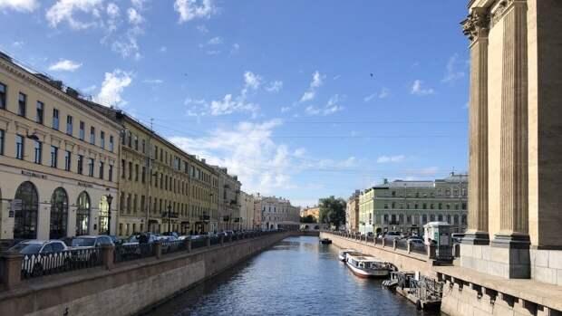 Гребень антициклона отменил дожди и вернул Санкт-Петербургу солнце в субботу 29 мая