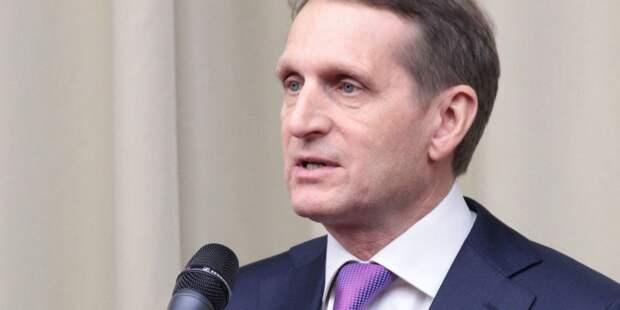 Нарышкин прокомментировал слова Лукашенко о Навальном