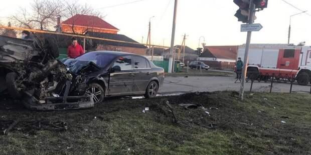 На Кубани в ДТП с участием полицейского погибли два человека