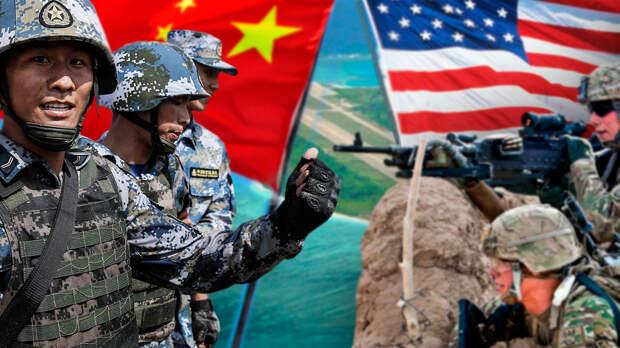 В Китае возмущены провокационной повязкой на униформе военных США