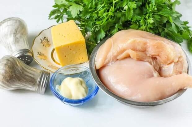 Куриная грудка с картошкой