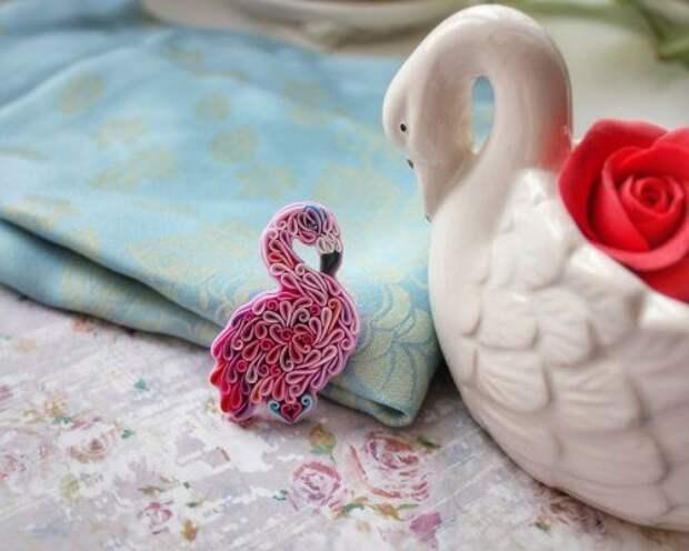 Красочные украшения из полимерной глины