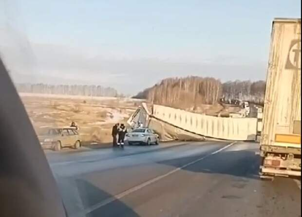 Движение на трассе М-7 восстановлено под Нижним Новгородом
