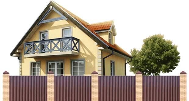 Ограждение для частного дома: разновидности, особенности выбора, плюсы и минусы