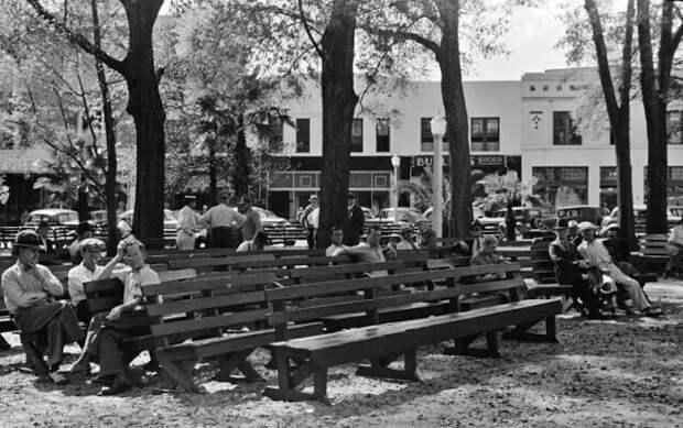 Место общих собраний в парке, Лейкленд, Флорида, 1939 год