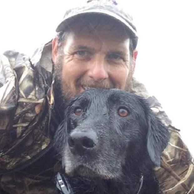 Собака и мужчина