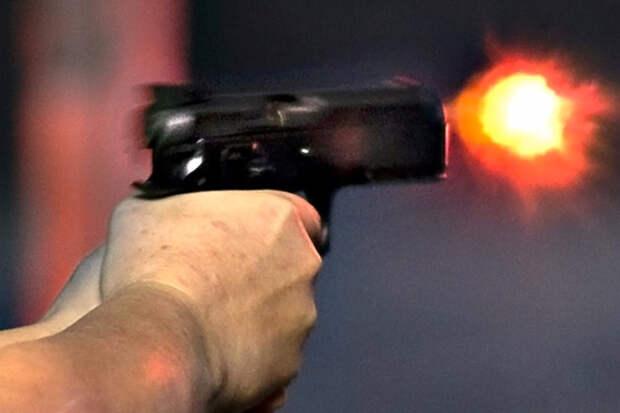 Стреляем в гранаты из пистолета и смотрим, что будет. Видео
