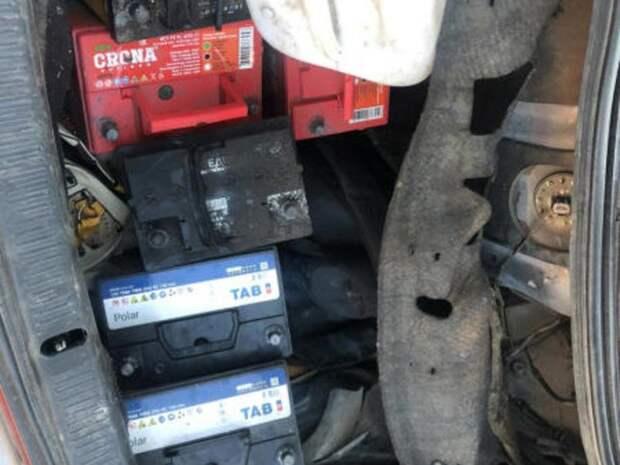 «Серийных» похитителей аккумуляторов задержали в Чите