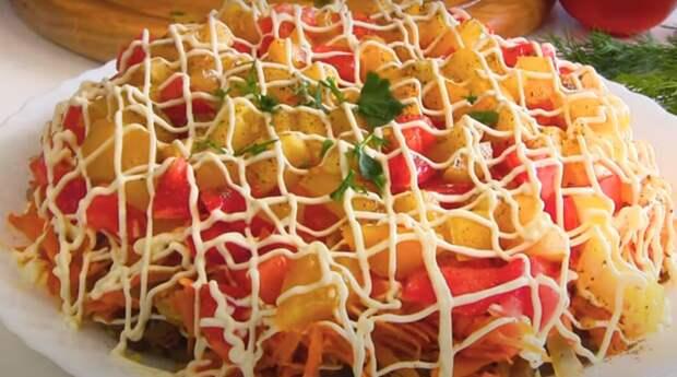 Шикарный салат из баклажанов
