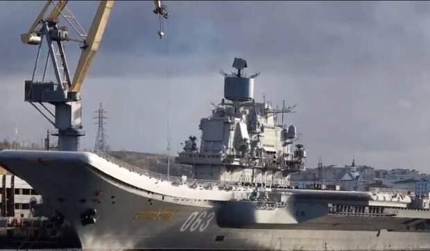 «Мера пресечения - арест»: Гендиректор 10 СРЗ задержан за хищение средств при ремонте авианосца «Адмирал Кузнецов»