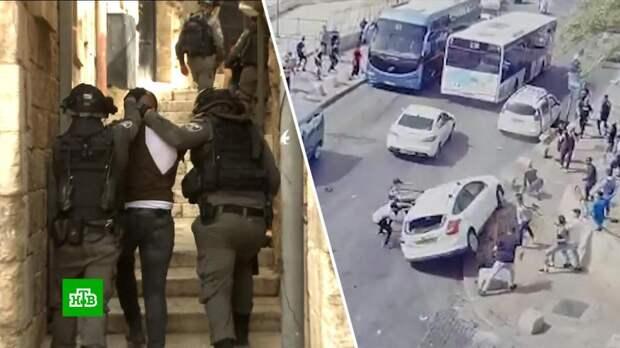 На Храмовой горе в Иерусалиме возобновились беспорядки: сотни раненых