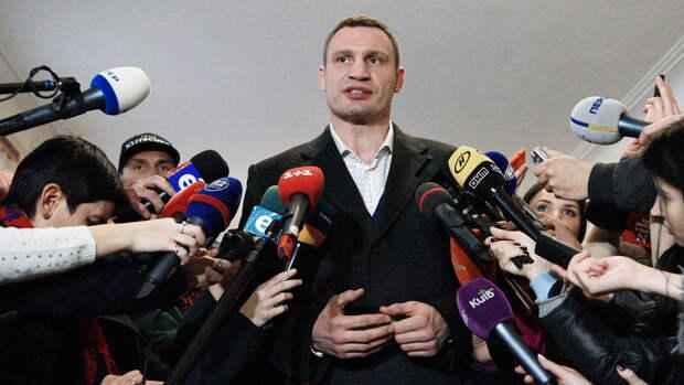 Кличко пригрозил Зеленскому судьбой Януковича