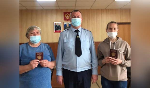 Жителям сгоревшей омской деревни Каракуль привезли паспорта