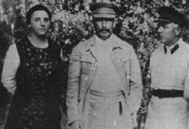 Сталин и Надежда Аллилуева