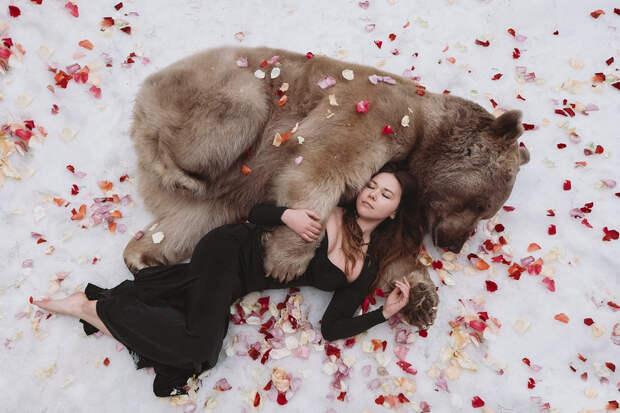 Фотограф Ольга Баранцева. Фотосессии с дикими животными и творческие портреты 15