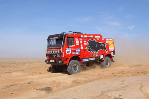 10 невероятных фактов о гоночной команде МАЗ на Дакаре