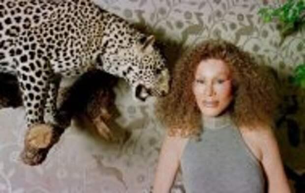 Блог Юрия Хворостова: Чем прославилась знаменитая «женщина-кошка» Джослин Вильденштейн, которую испортили её миллионы