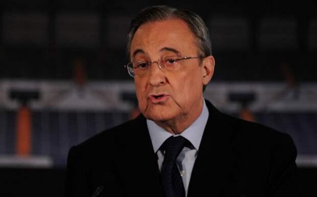 Перес сделал первое заявление на посту президента Суперлиги Европы