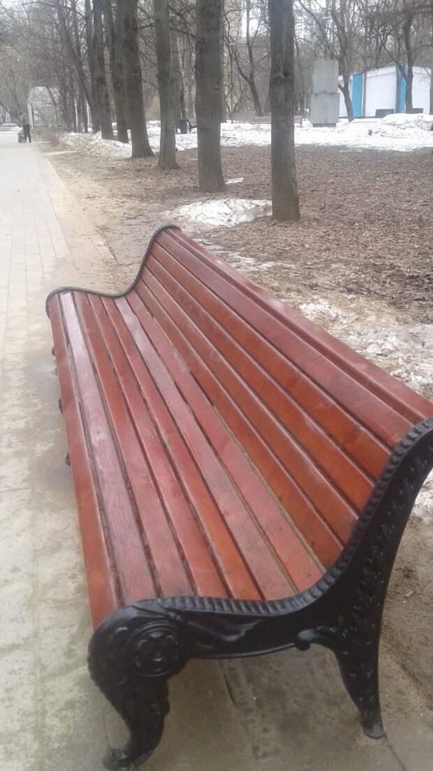 В парке «Дубки» навели порядок