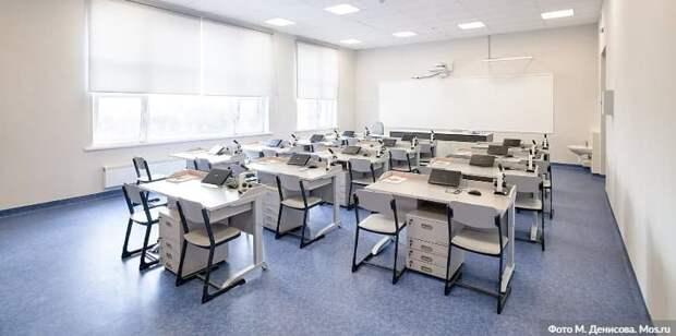 Собянин: Одна из крупнейших школ Москвы откроется в Левобережном в этом году. Фото: М. Денисов mos.ru
