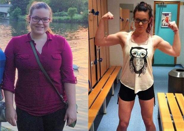 Чудесное преображение девушек, одержавших победу над лишним весом