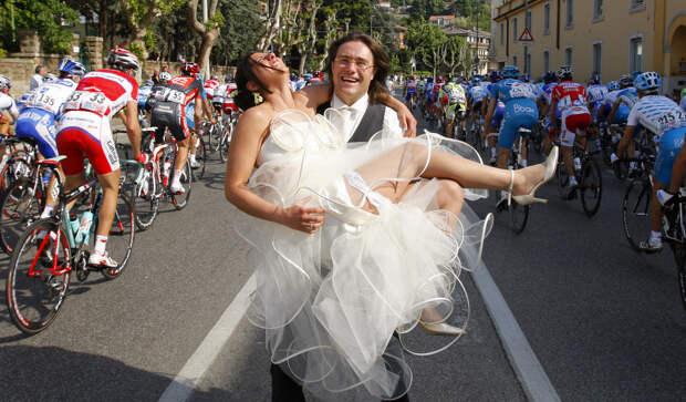 Позитивные и веселые фотографии со свадьбы