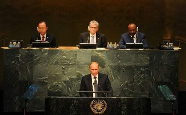 Александр Роджерс: Путин-миротворец — о речи нашего Президента в ООН