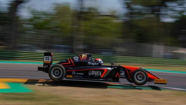 УБедрина— три подиума витальянской «Формуле-4»