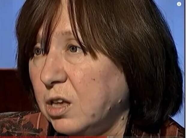 """Светлана Алексиевич попросила помощи у нашей """"интеллигенции"""". Как отозвались """"светлоликие"""""""