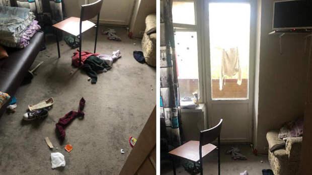 Младенец выпал из окна шестого этажа в Москве