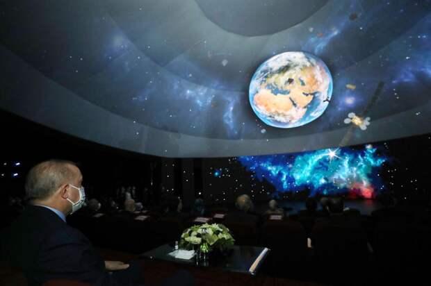 Турция хочет в космос