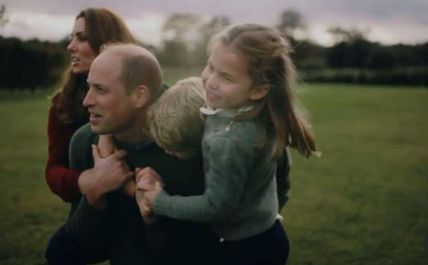 Принц Уильям показал семейное видео в честь годовщины свадьбы