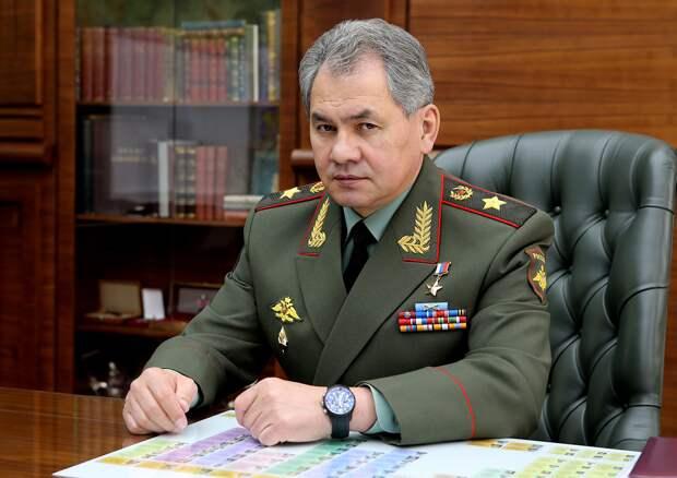 Сергей Шойгу, Министр обороны Российской Федерации. Источник изображения: